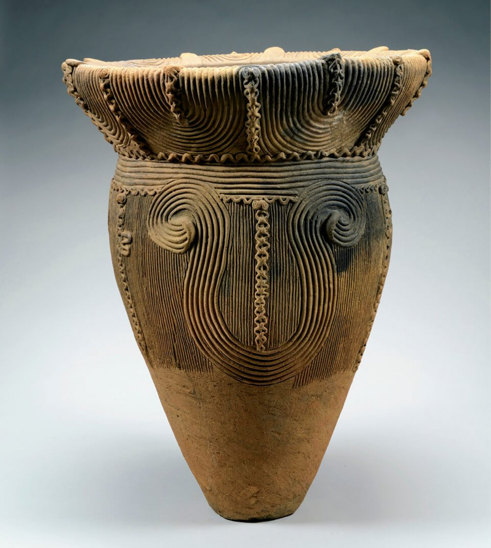 深鉢形土器 殿林遺跡(甲州市)重要文化財