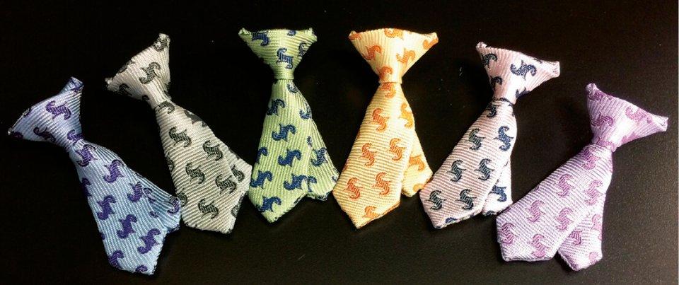 ネクタイ型p-Tieは6色