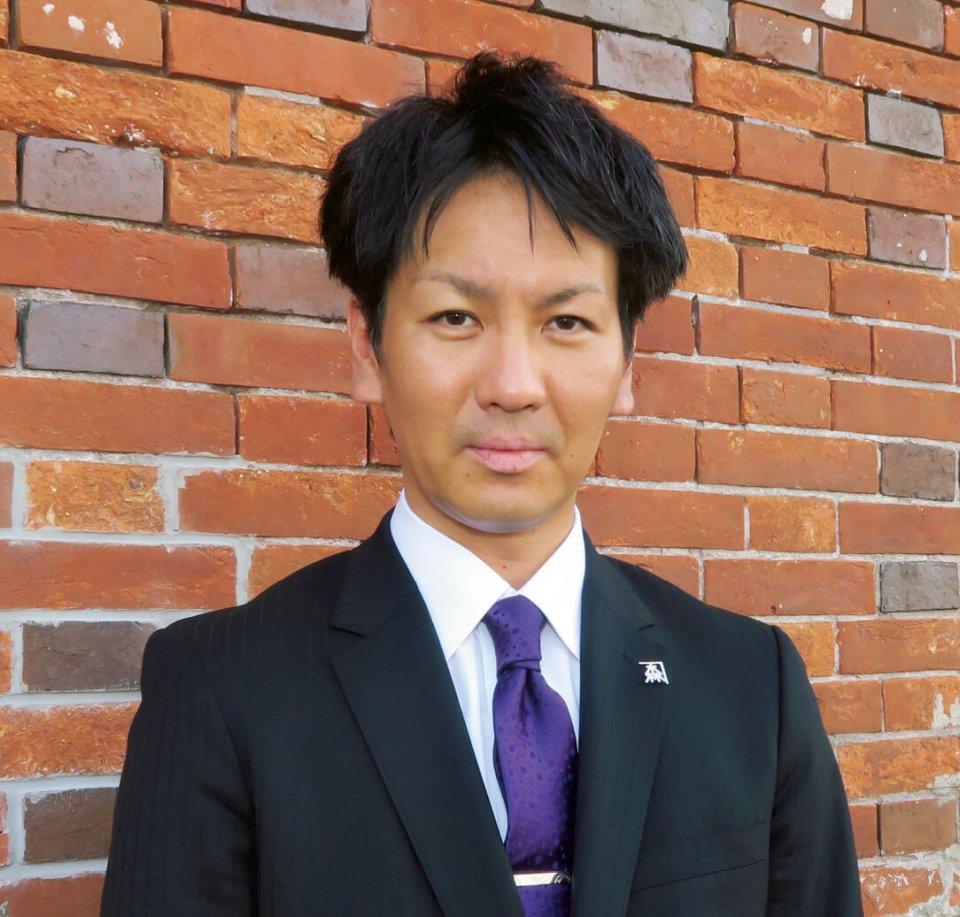 2017年社長に就任した渡邉政久さん。「社員に対しては、金森赤レンガ倉庫の従業員としてではなく、函館や北海道の代表としてお客さまに接してほしいと伝えています」