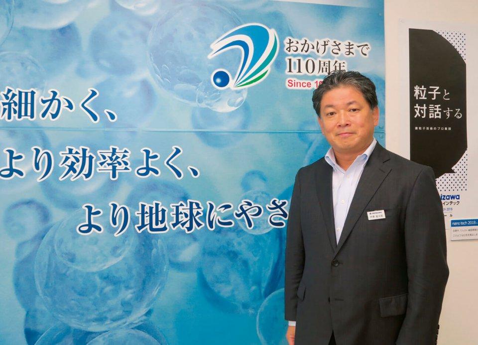 社長の芦澤直太郎さんは現在、習志野商工会議所の副会頭も務める。「5年前に副会頭になったことで地域から一目置かれる会社になり、これからもさらにいい会社になろうという励みになっています」