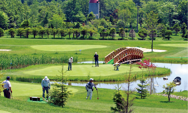 花夢里(かむり)パークゴルフコース/道内最大級の全72ホールを完備する本格的なパークゴルフ場。日本パークゴルフ協会公認コース