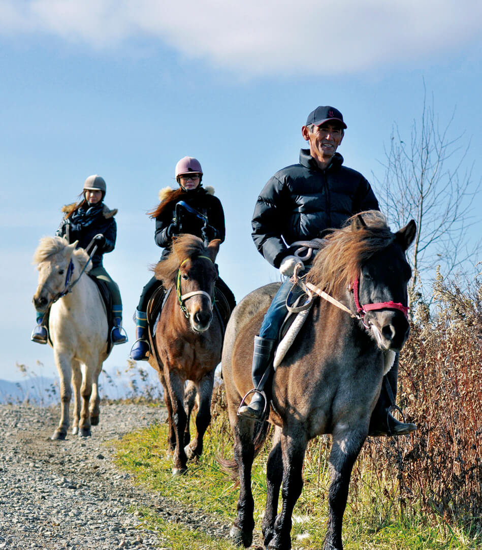 ホースガーデンMURANAKA/酪農地帯にあるホーストレッキング専門の乗馬クラブ