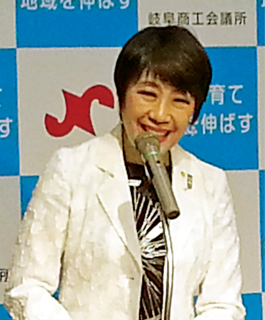 熱心に語る藤沢会長