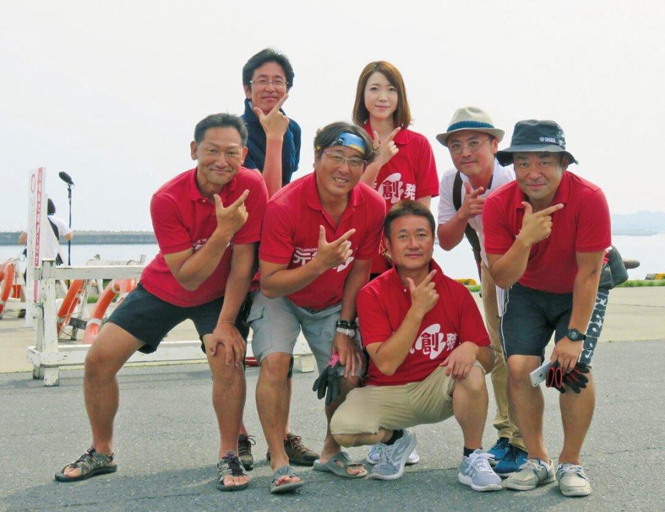 八戸YEG会長・副会長とみなと創生委員会委員長・副委員長の主要メンバー