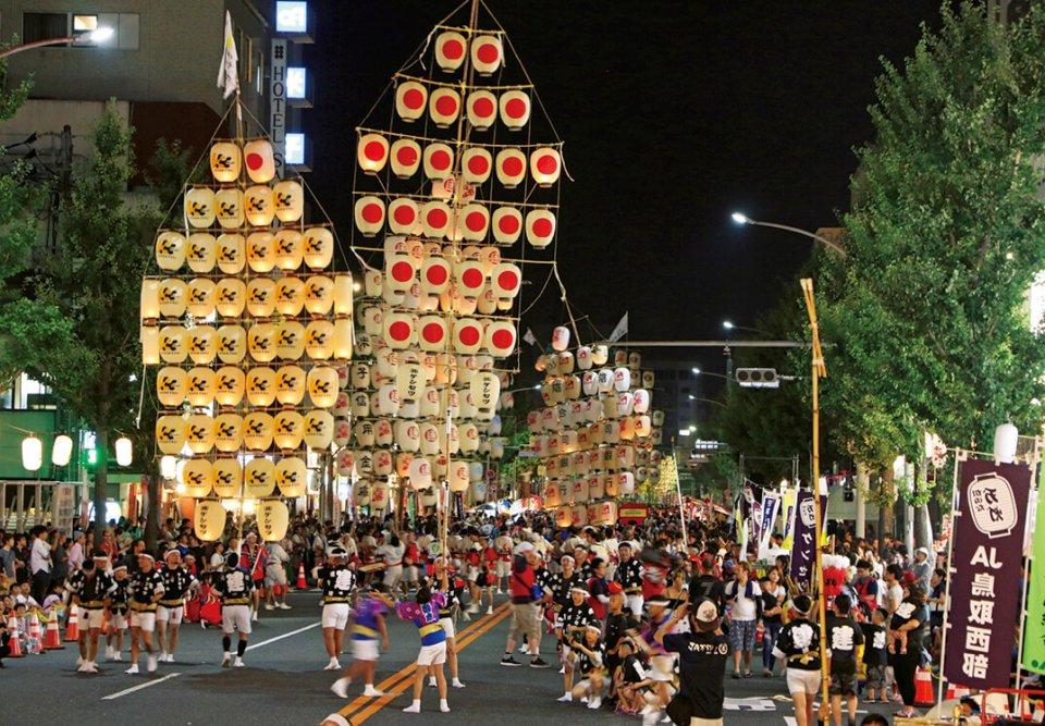 「米子のアイデンティティーをつくりたい」との思いから市民の手でつくりあげられた「米子がいな祭」