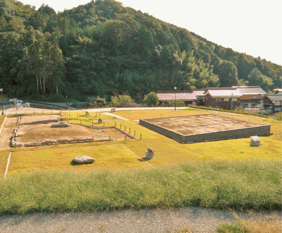 飛鳥時代に建てられた寺院、国史跡・上淀廃寺跡