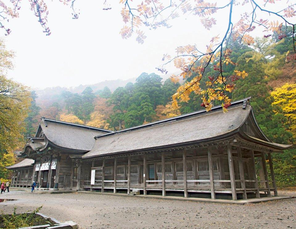 大山信仰の中心である「大神山神社奥宮」©鳥取県
