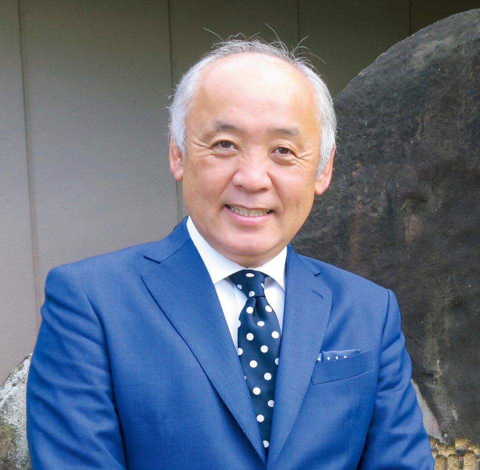 糸柳社長の内藤修也さん。「糸柳は社員も含めて一つの家族。みんなで同じ方向を向いて、お客さまの満足のために努力しています」