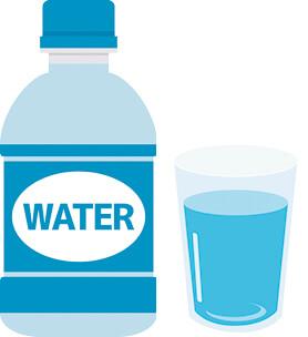 こまめな水分補給を