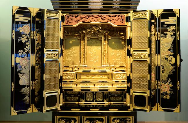 伝統的工芸品・飯山仏壇