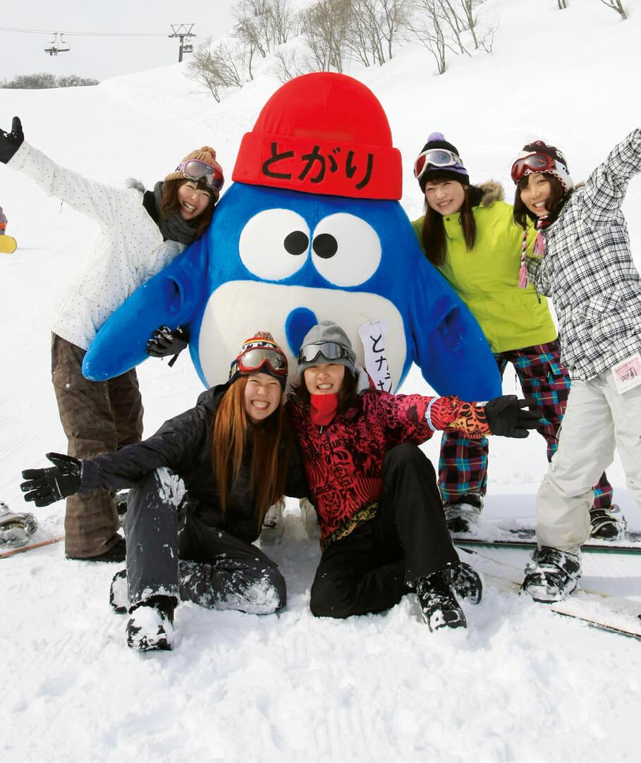 市内スキー場(戸狩温泉と斑尾高原)