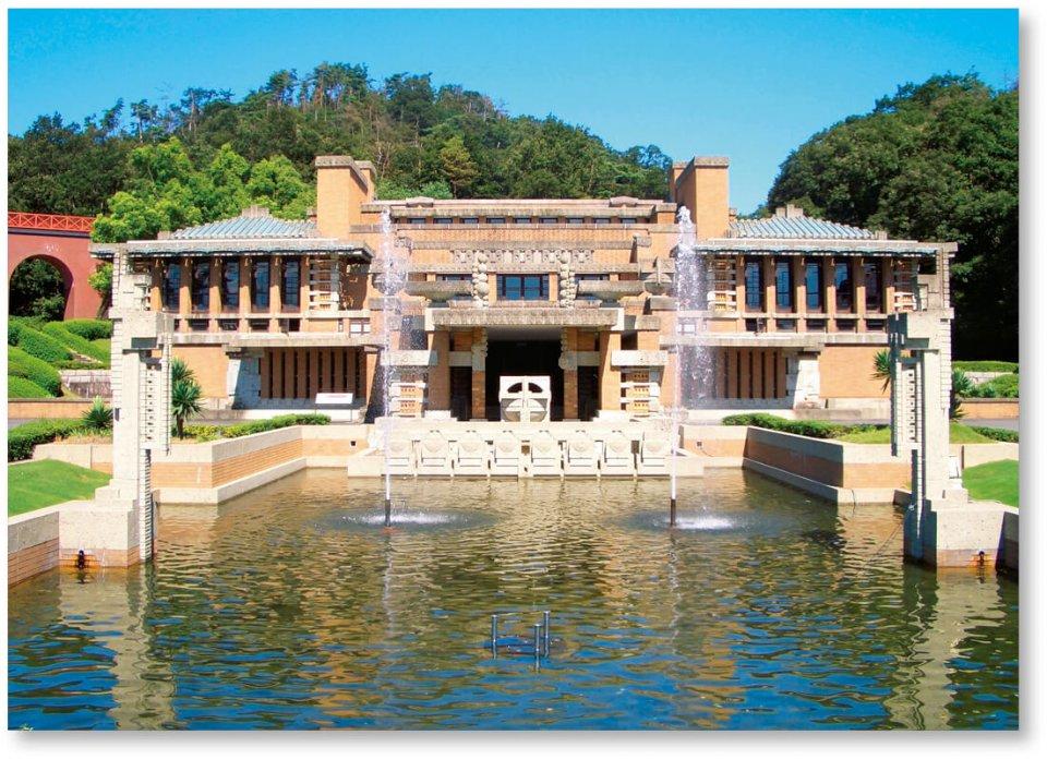 博物館明治村:約100万m²の敷地に、重要文化財11件を含む67件の明治時代の建築物が並ぶ