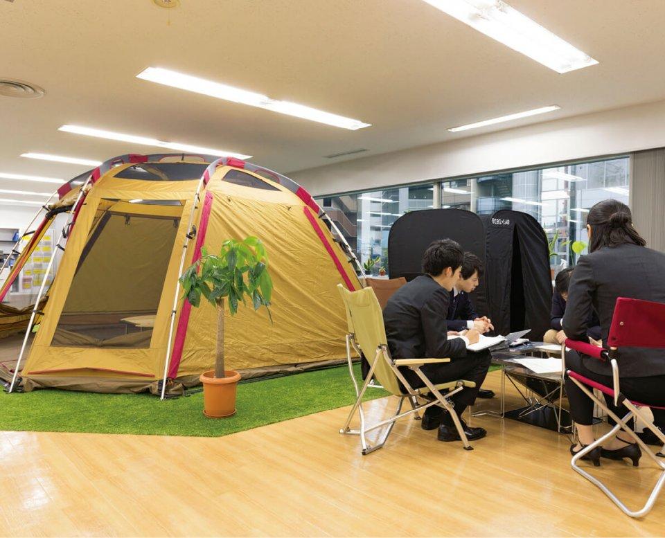 2018年6月にコワーキング(共同作業)型Co-innovationスペース「COHSA」を本社のあった渋谷に開設。会社の枠を超えたクリエーティブとイノベーションを推進している