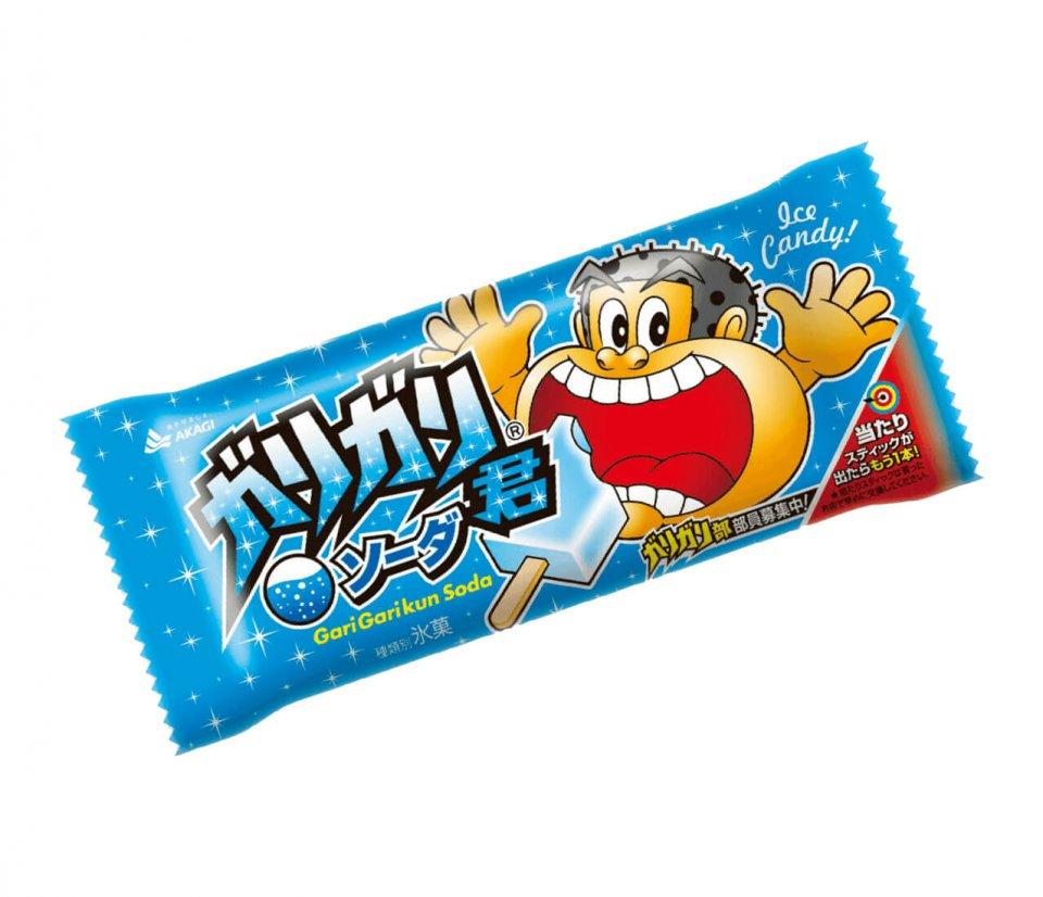 1981年に誕生した「ガリガリ君ソーダ味」。消費者の声を反映して2000年にキャラクターデザインをリニューアルした現行モデル