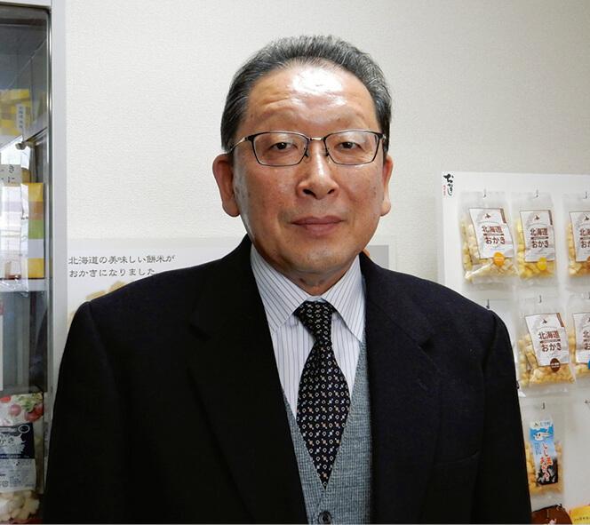 「日本の場合、無添加だと味が物足りないと感じる人が多いですが、海外ではオイルフリーで無添加の方が受けます。そこは大きな違い」と語る廣島俊郎社長