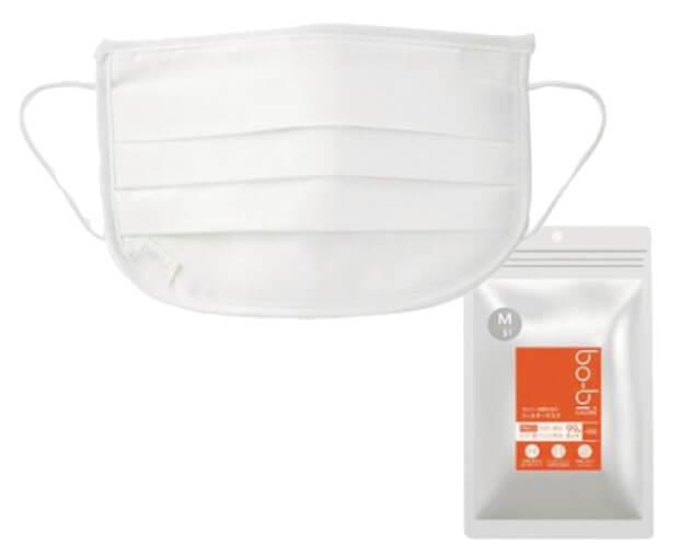 次世代マスク「bo-biカロリー」は使い捨てタイプ。5枚入り3980円(税込)