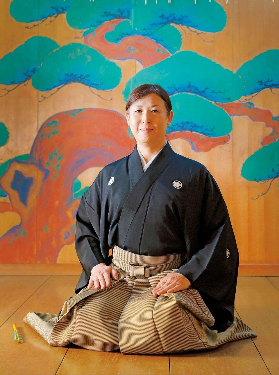 「能楽は鎮魂や浄化、祈りの心を使命とした伝承文化。これからも東北へ届け続けていきたい」
