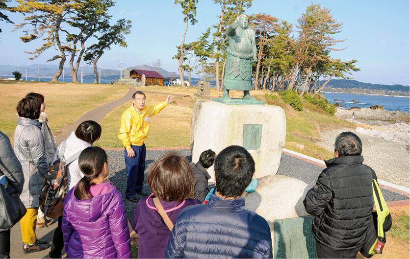 気仙沼震災復興語り部ガイドなど、ガイドの育成や市民の観光意識醸成もDMOの役割の一つ