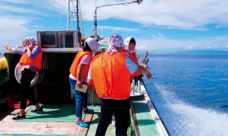 「大間マグロ一本釣り漁見学ツアー」は、外国人観光客のニーズに対応した体験型観光コンテンツの一つ