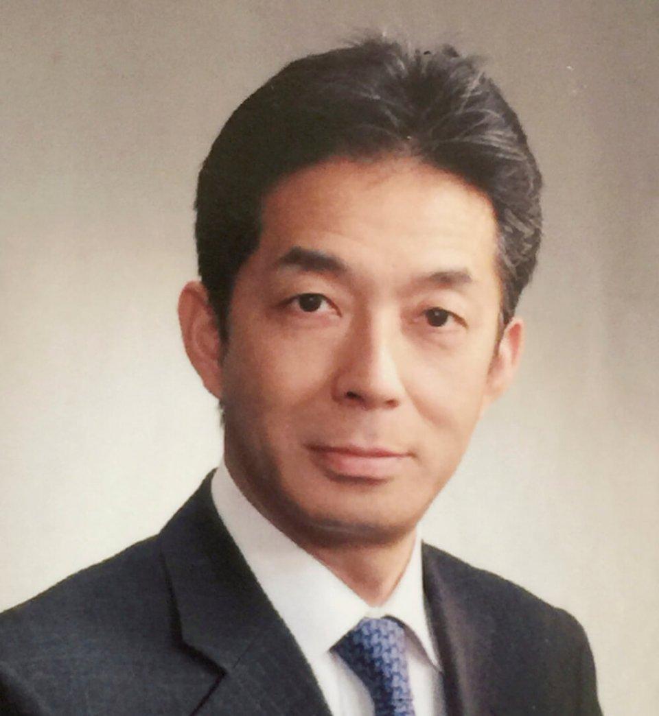 「ラグビータウン、国産麦の聖地として熊谷のうどん文化の認知度向上、UDONのグローバル化を並行して進めていきたい」と語る松本邦義会長