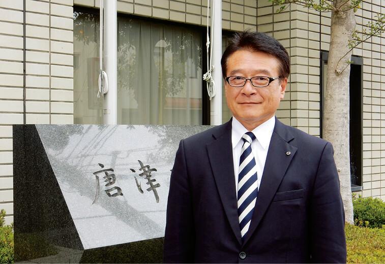 「KVGではあえて観光コースを設定せず、ゲストの要望に合わせて臨機応変に案内しています」と会の特色を語る吉田伸二さん