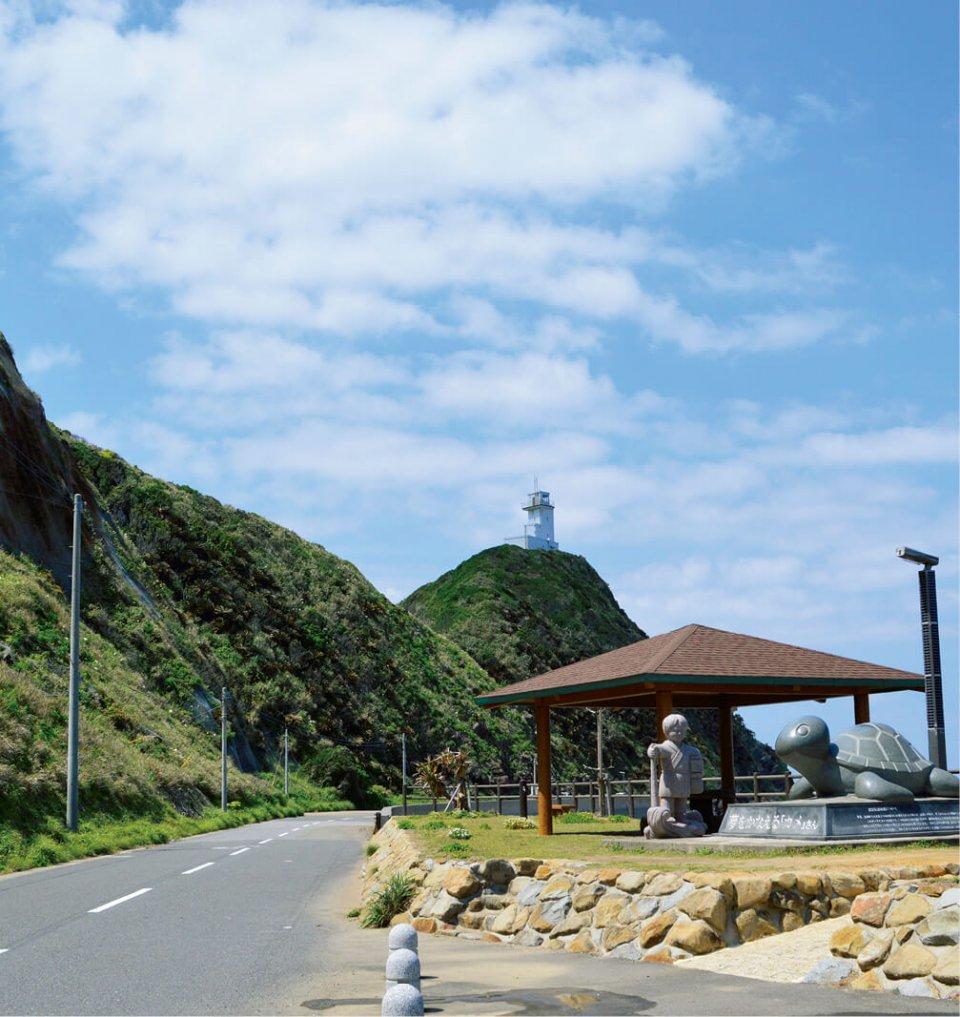 奄美近海を通る船に重要な役割を果たす笠利崎灯台