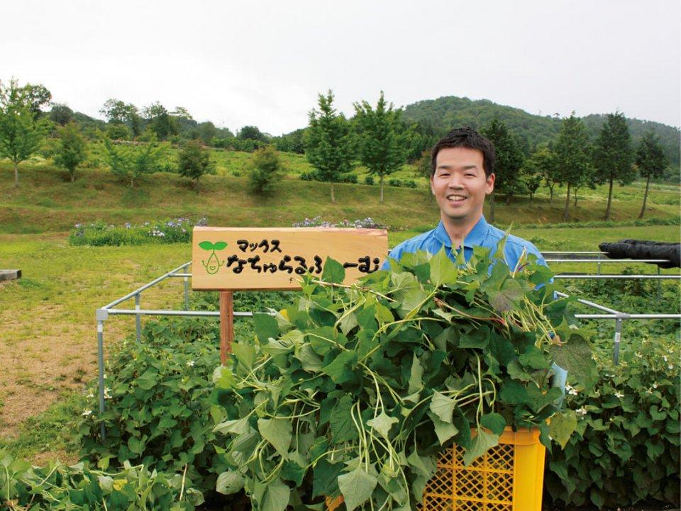 商品に配合する成分の一部を自社農園で栽培。無農薬・有機栽培で原材料にも責任を持った取り組みをしている