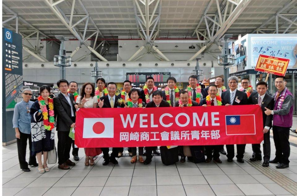 台湾・高雄市での高雄IMCのお出迎え