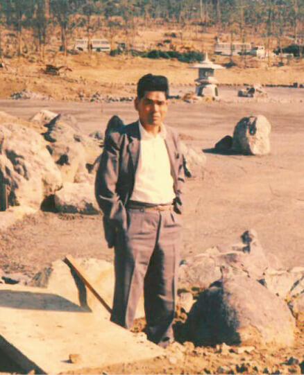 四代目の富雄さんは1970年の大阪万博会場の造成でも仕事を請け負っていた