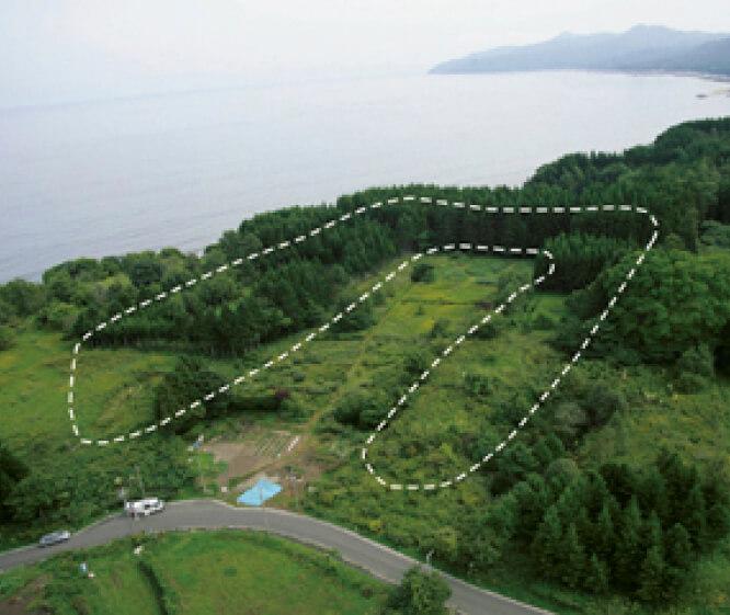 垣ノ島遺跡は、紀元前7000年から約6000年もの長期にわたる定住を示す集落遺跡(写真提供/函館商工会議所 協力/函館市縄文文化交流センター)