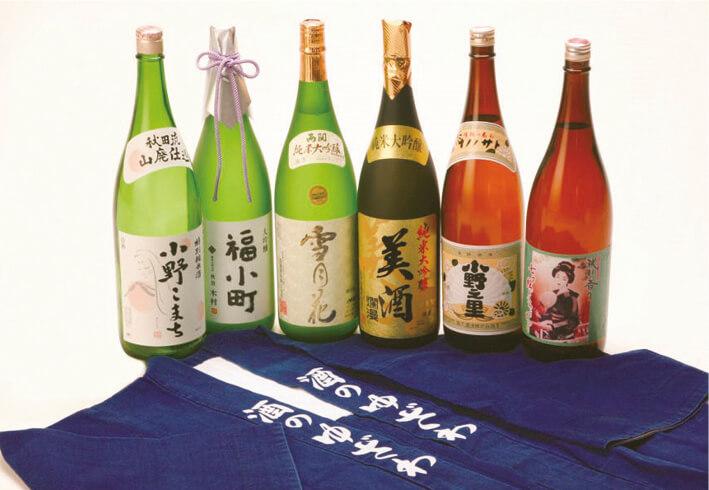 湯沢銘酒:「東北の灘」と称される湯沢の醸造酒の数々