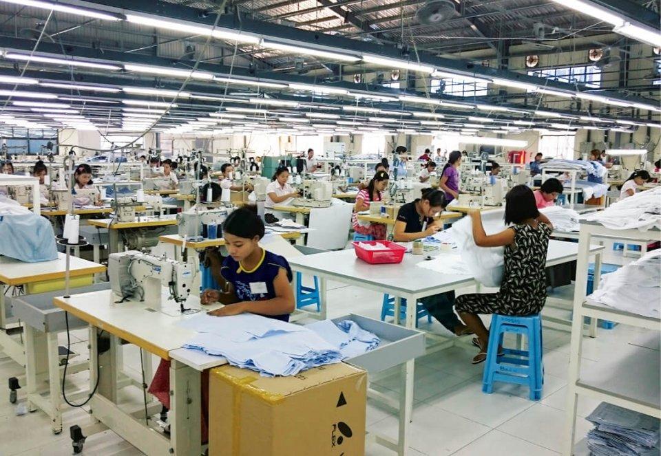 ミャンマーは教育水準も高く、多品種小ロット生産にも難なく対応