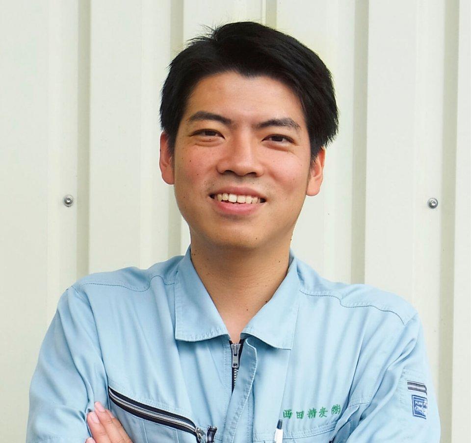 「すでにミャンマーに現地法人があって、ゆくゆくは別の地域に自社工場を建設したいと考えています」と抱負を語る西田啓吾社長