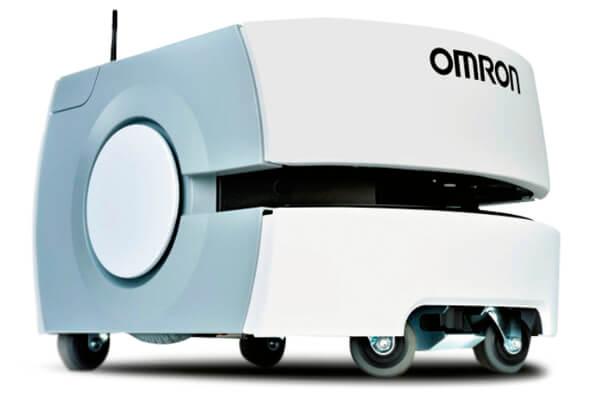 自動搬送ロボ「LDシリーズ」。TMを搭載するとA地点で作業してB地点へ移動が可能