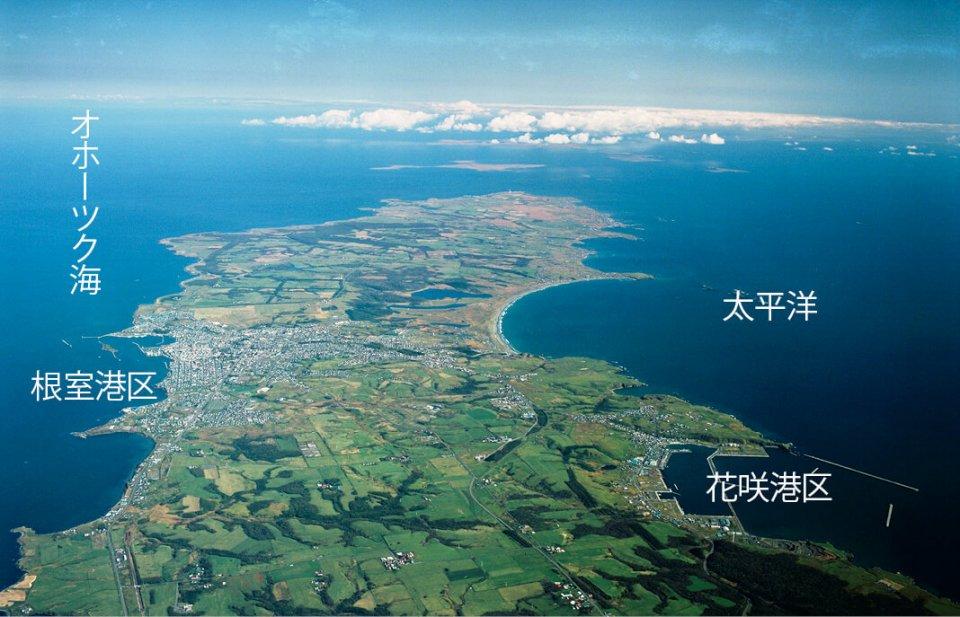 重要港湾根室港:北方海域の中心的な漁業基地と物流の拠点を担う