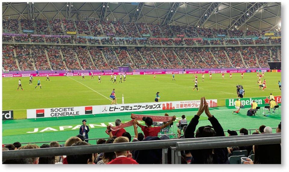 ラグビーワールドカップで5試合開催(於:大分スポーツ公園)