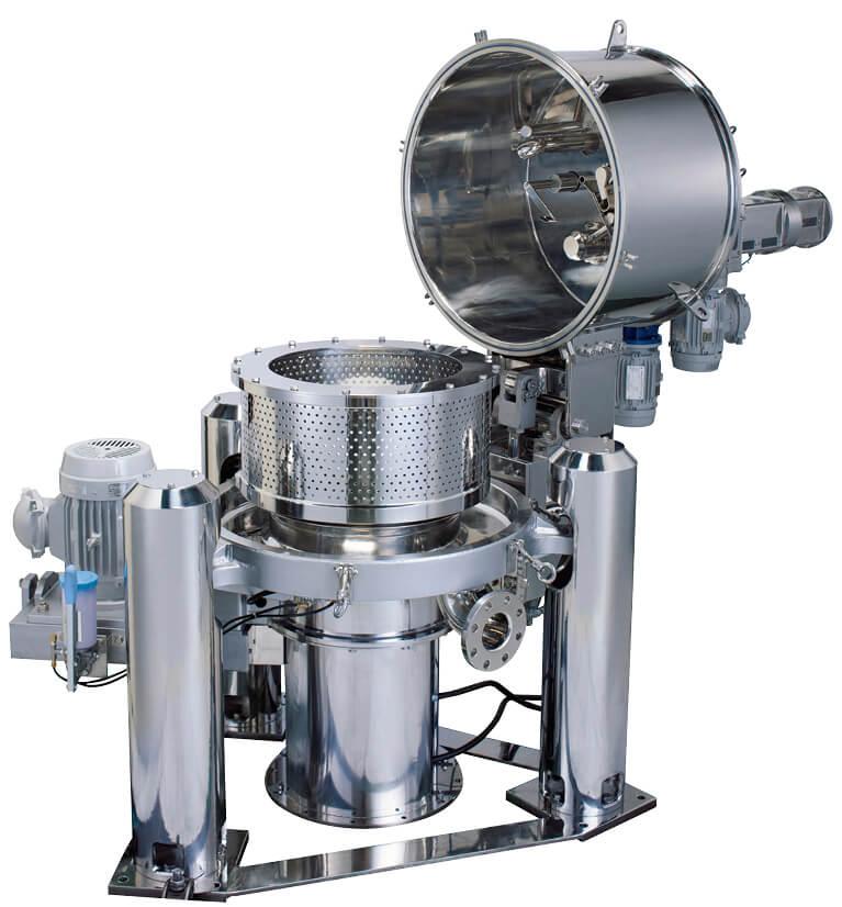 遠心分離機は用途に応じてさまざまなタイプがある