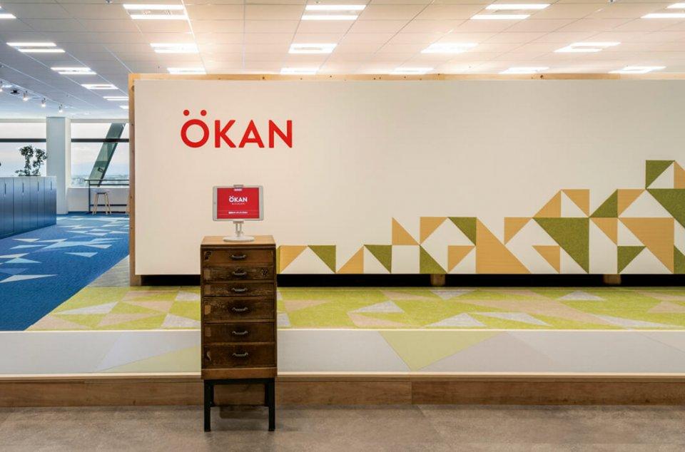 「ie家」と名付けた自社オフィス。「ハイジ」のスコアを連動させてスペースとパフォーマンスの関係性を実験し、新たなオフィスの価値創出を狙う