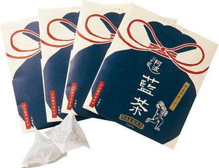 「藍」を使用した藍茶