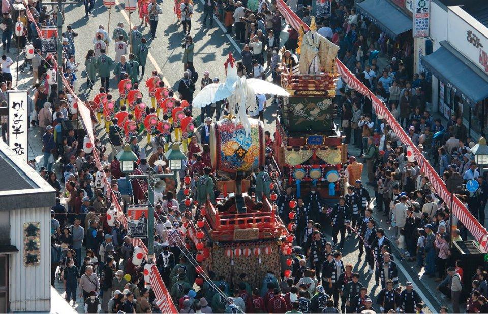 2年に一度、西暦偶数年の11月に開催されるとちぎ秋まつり。次回は2020年11月6日(金)・7日(土)・8日(日)