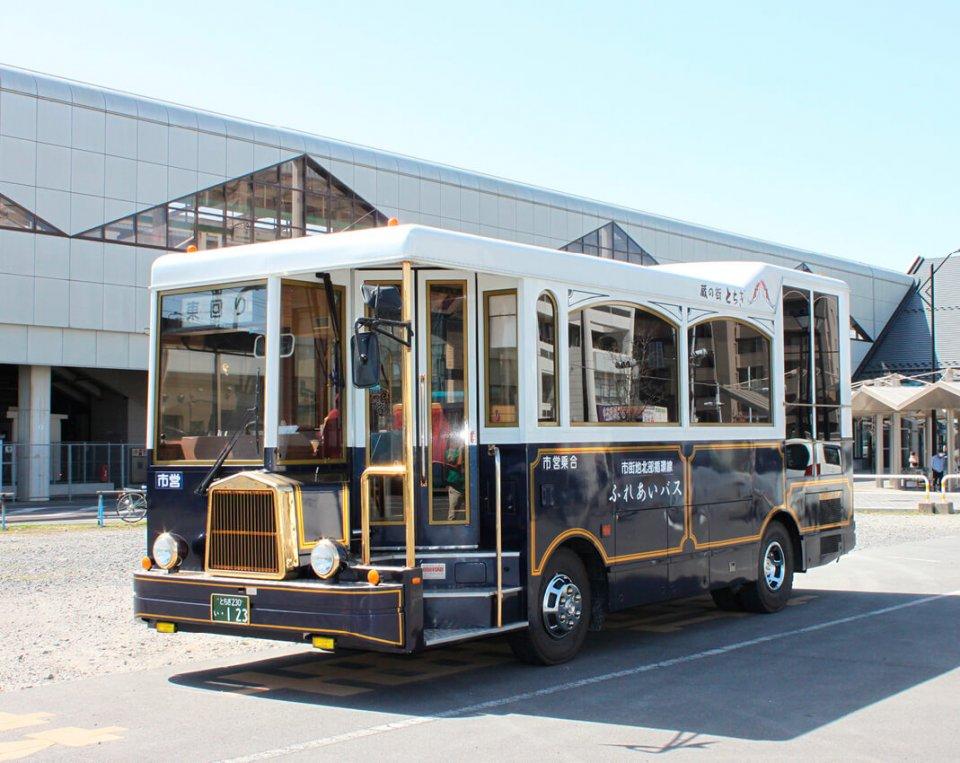 市内を循環する「蔵の街観光バス」