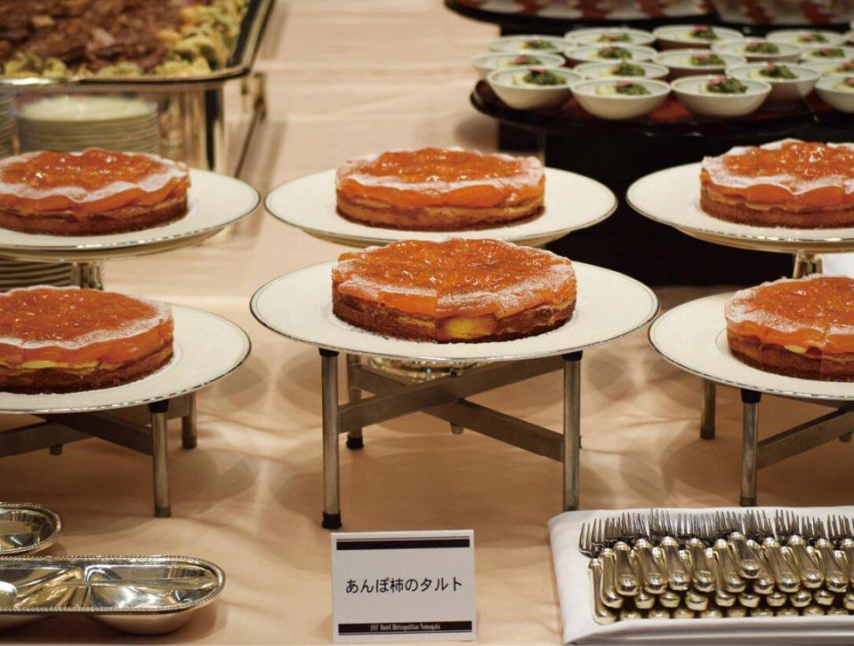 福島県との交流と復興支援から誕生、商品化された「あんぽ柿タルト」の元となった交流会のタルト
