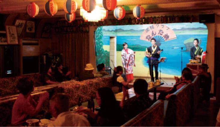 民謡クラブ なんた浜:ノスタルジックな雰囲気が漂う沖縄屈指の民謡酒場