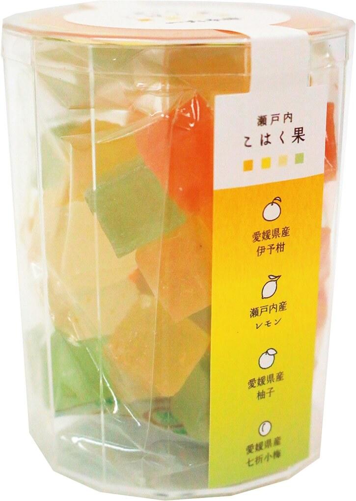 36個(4種各9個)入り972円(税込み)。色が見える透明なパッケージ
