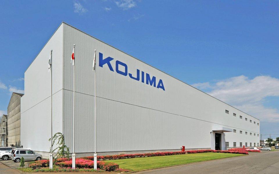 昭和44(1969)年、敷地面積が約5万㎡ある現在の場所に工場を移転した