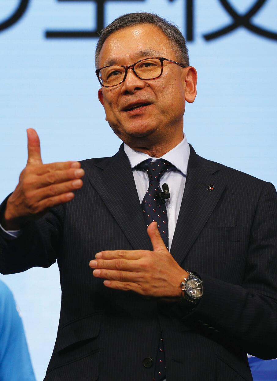 「47都道府県全てにクラブを、という目標はJリーグの経済的な発展ではなく、国民の心身の健全な発達に寄与することが目的」と語る村井さん