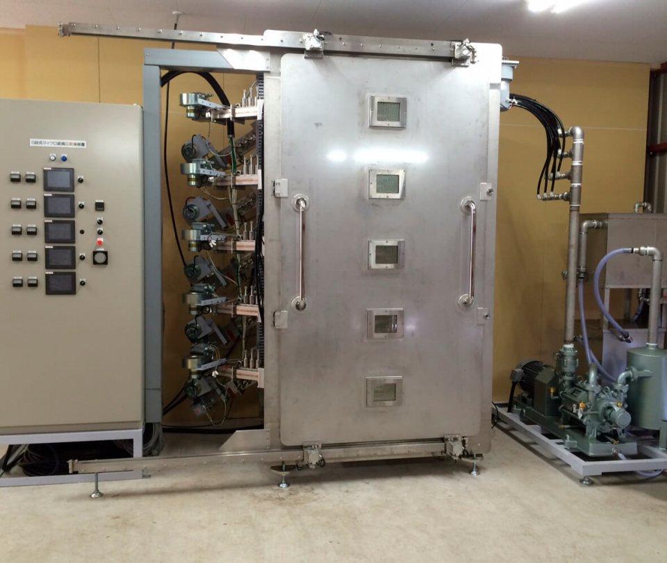 「マイクロ波減圧乾燥機sugokan」シリーズの5段型