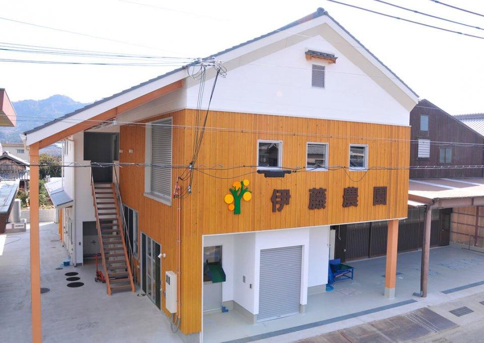 有田市を中心に約40カ所、12haのみかん畑を持ち、収穫から販売まで全て自社内で行っている