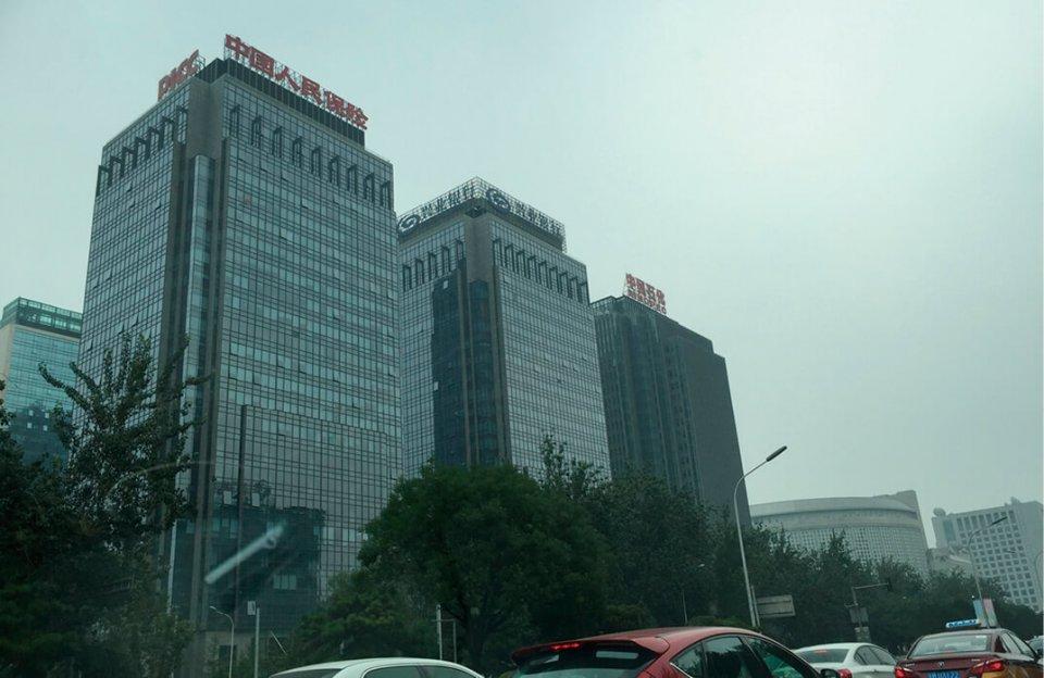 北京中心部には「フォーチュン・グローバル500」にランクインする企業の本社が立ち並ぶ