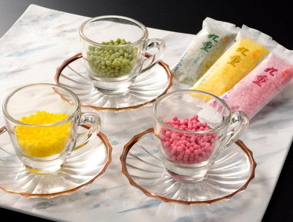 香りをさまざまな方法で楽しめる、九重本舗玉澤の代表銘菓「九重」